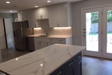 North Austin Residence Kitchen and Master Bath Remodel Project